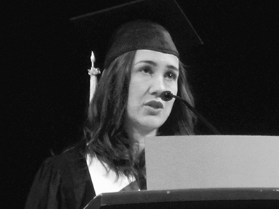 Sophie Heywood, Commencement 2016