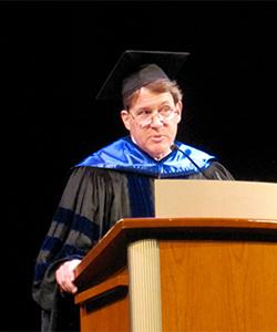 Prof. David Zimmerman, Commencement 2016